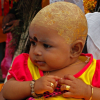 Thumbnail image for We witness mundan, a Hindu head-shaving ceremony