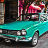 Thumbnail image for Photos of colorful vintage cars of South America