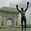 Thumbnail image for From the Smithsonian: Traveling with the Rocky statue in North Korea