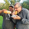 Thumbnail image for Local flavor: Trying reindeer sausage in Alaska