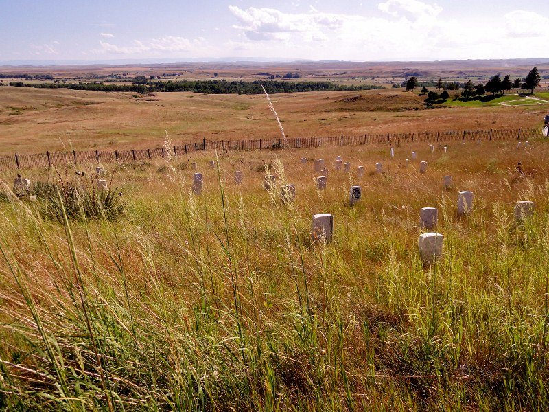 little bighorn monument