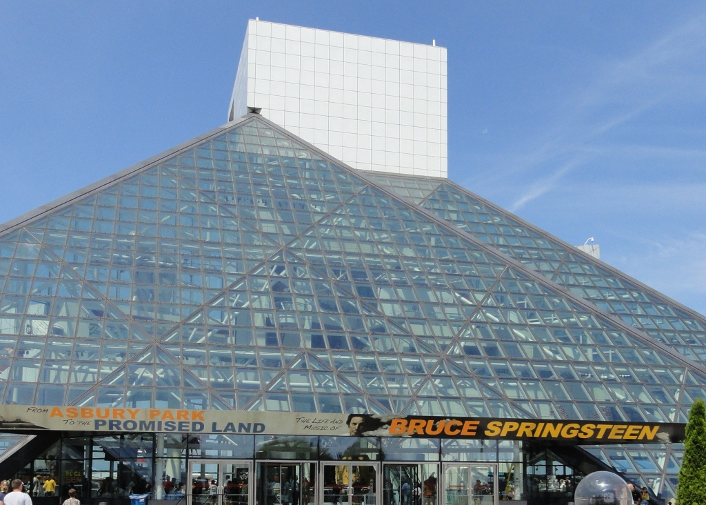 Bruce Springsteen exhbit Rock and roll hall of fame