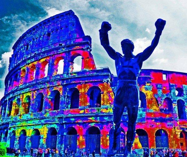 Rocky colisseum