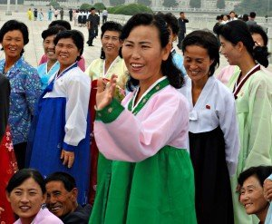 What women wear North Korea choson ot