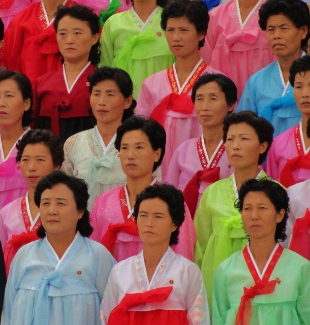 choson ot worn by women in North Korea