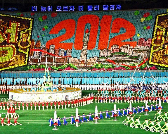 North Korea Arirang Mass Games