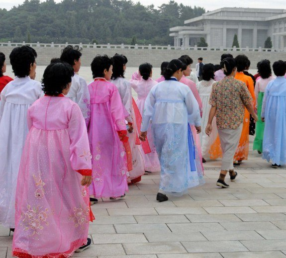 Pictures of North Korea women choson ot