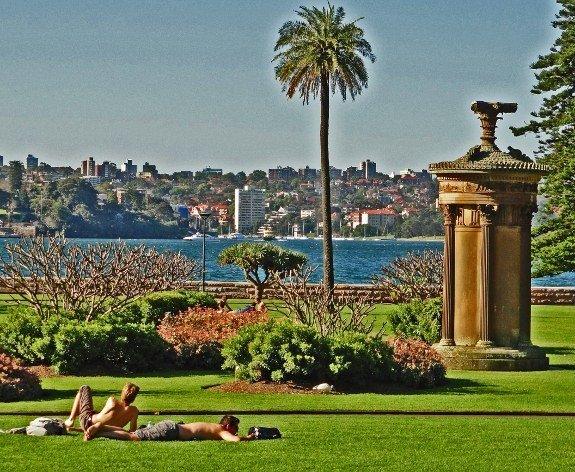Free things to do in Sydney Royal Botanic gardens