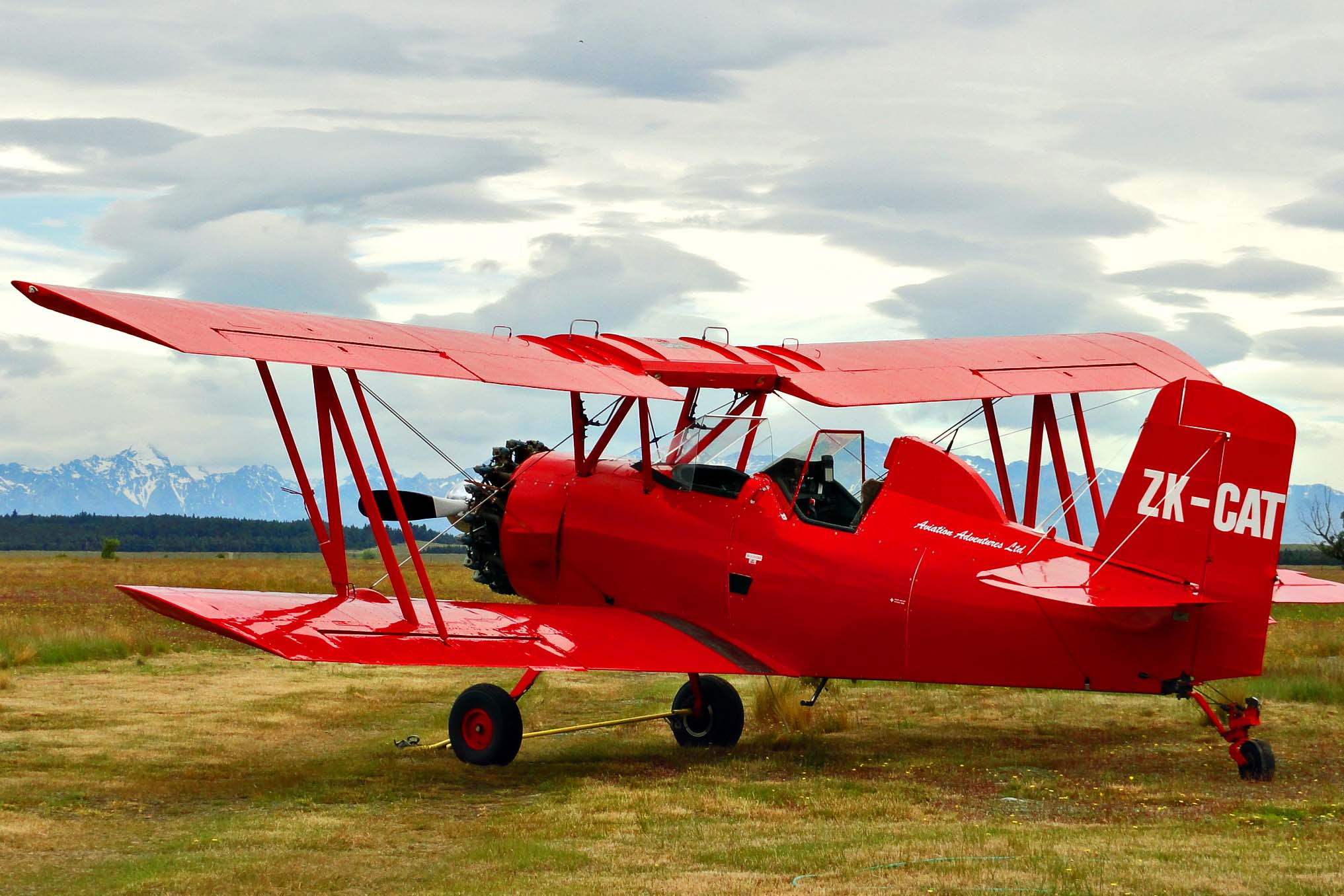 Wings over Lord of the Rings  Red Baron Biplane