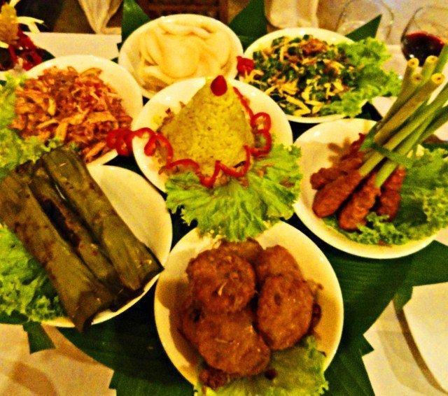 Indonesian rijstaffel