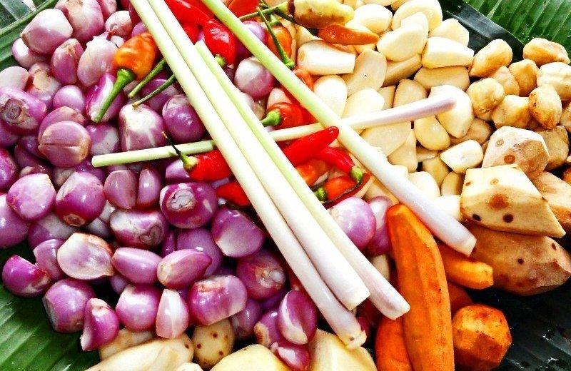 Bali food ingredients