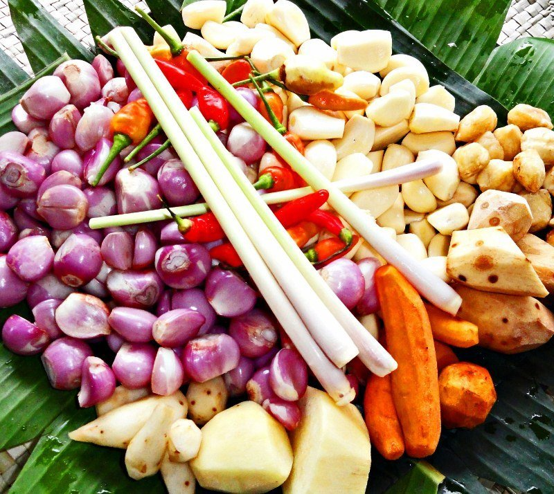 Bali food ingredients