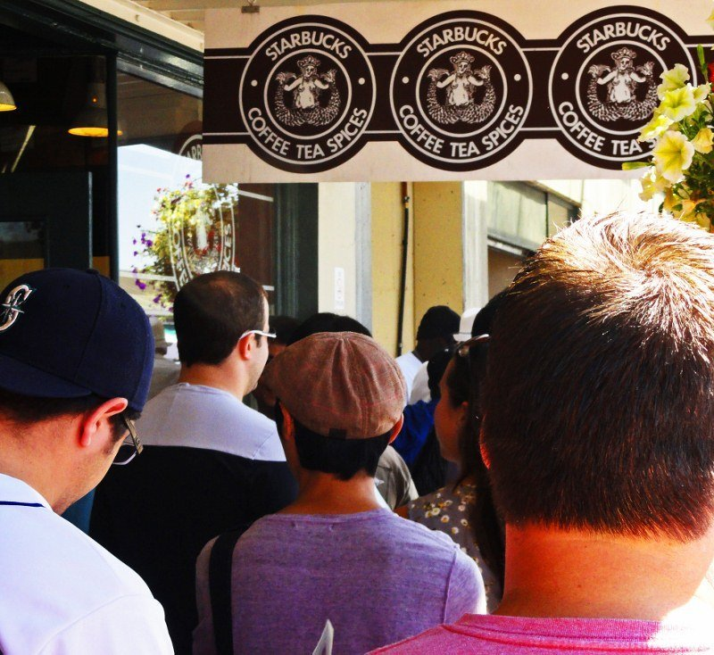Original Starbucks Pike Place Market