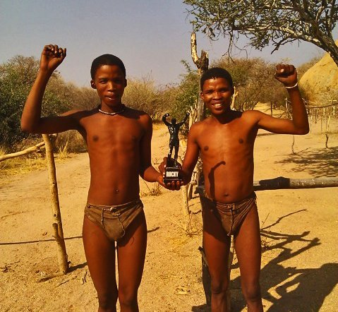 Rocky San People Namibia