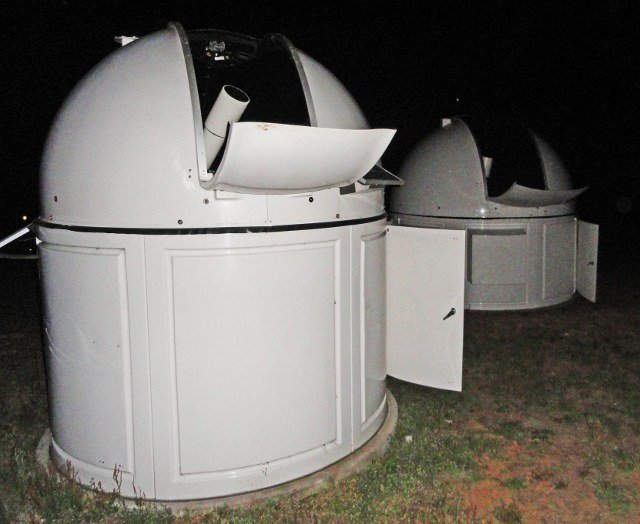 Warrumbungle Observatory telescope farm