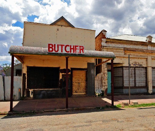 Australian Outback butcher