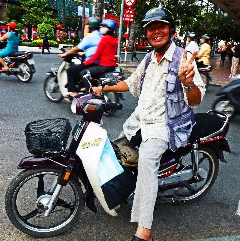 Saigon motorbike