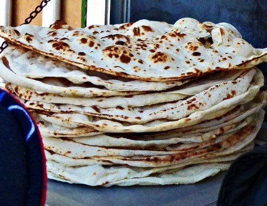 Arab flatbread pita