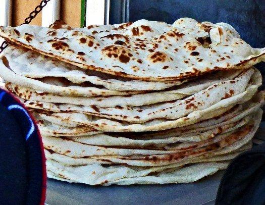 Arab flatbread pita