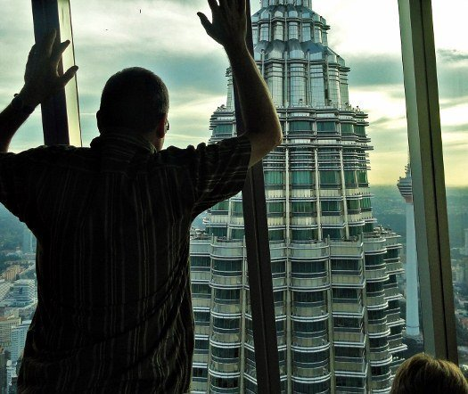 Petronas Towers observation deck