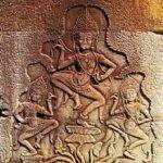 Angkor Wat bas relief