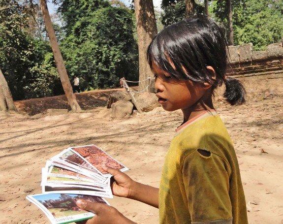 angkot at child vendors