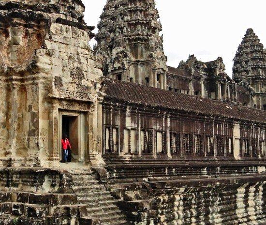 Angkor Wat quiet corner