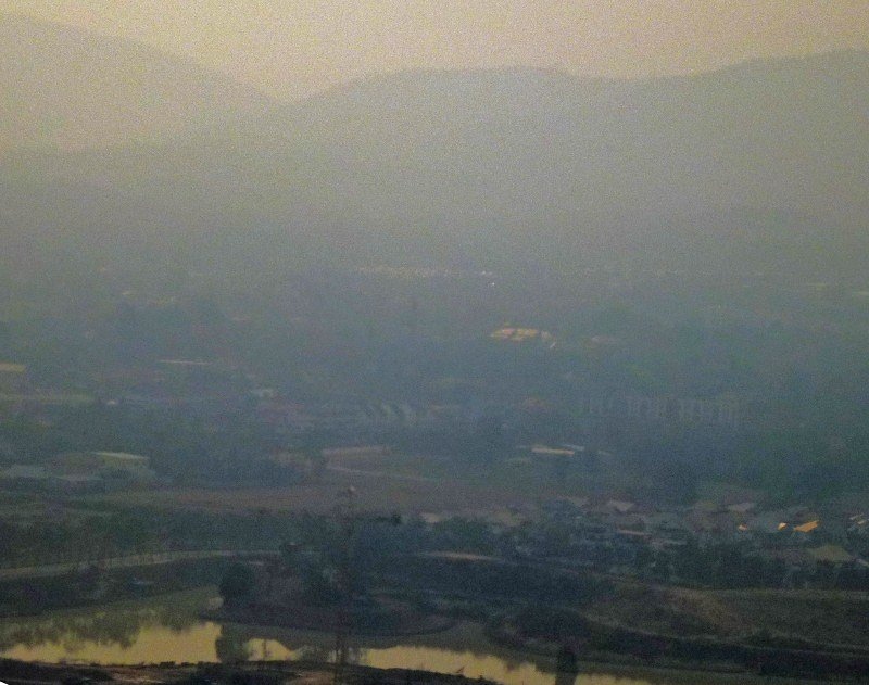 Post image for Purple Haze: Pollution in Chiang Mai