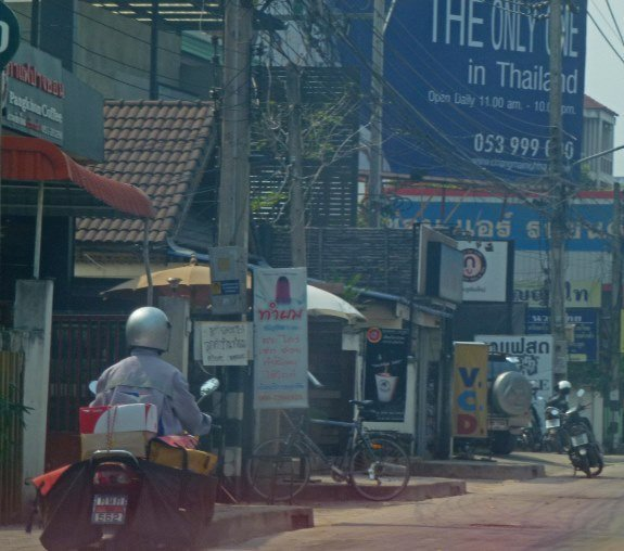 Chiang Mai street scene