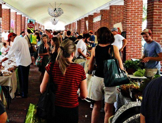 Local foods at the Headhouse Farmers Market in Philadelphia, Changes in Longitude