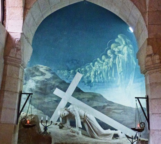Via Dolorosa Christ fell (525x471)