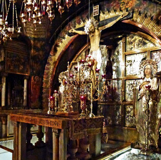 Church of Holy Sepulchre crucifixion site