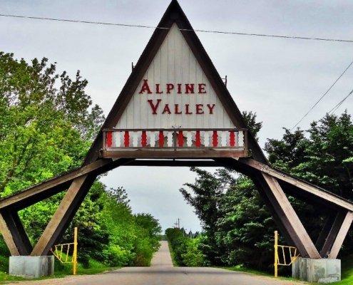SRV Alpine Valley entrance Stevie Ray Vaughan