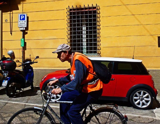 Bologna mini cooper bikes