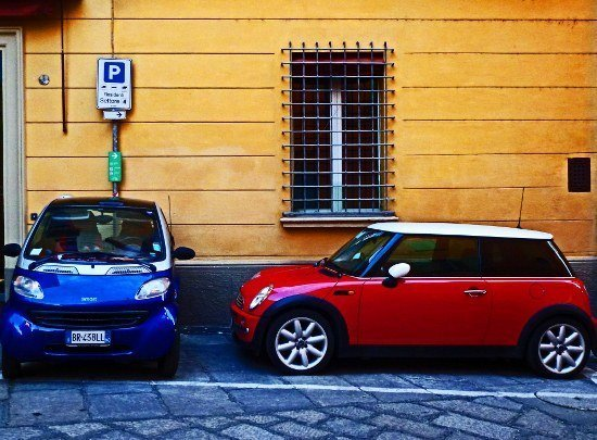 Bologna mini cooper smart car