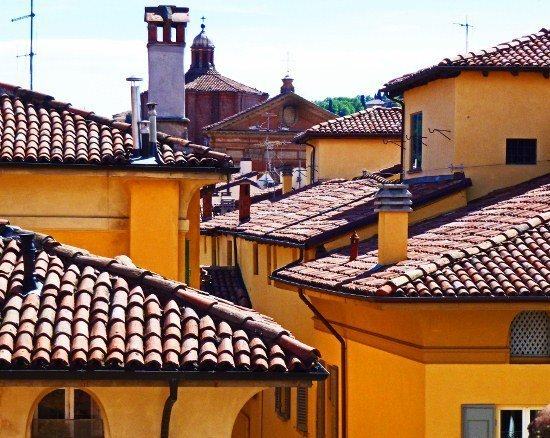 Bologna rooftops