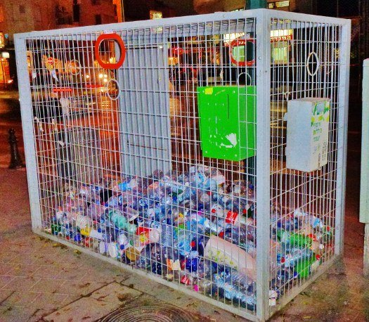 Israel plastic recycling cages