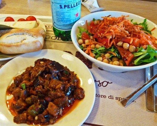 Italian food driving