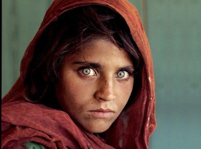 Steve McCurry Afghan Girl photo