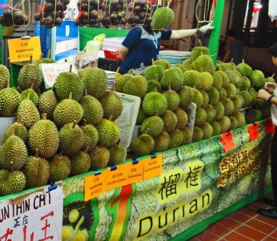 Durian night market Singapore