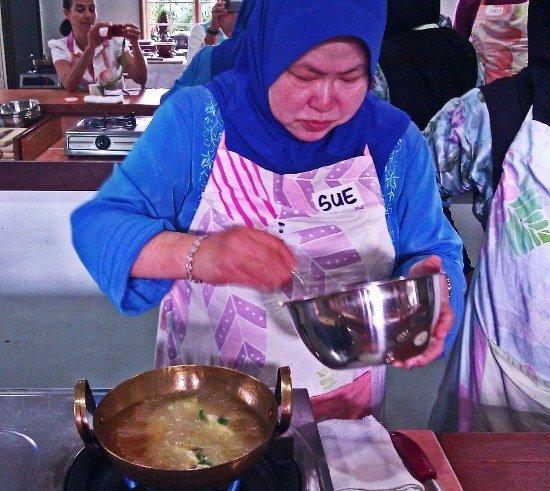 Malaysian cooking Lazat school