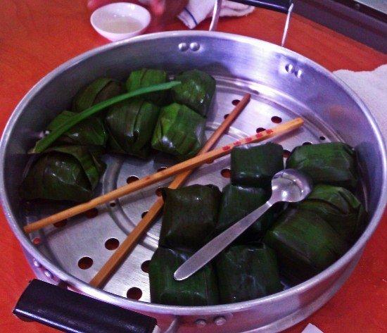 Malaysian food kueh koci