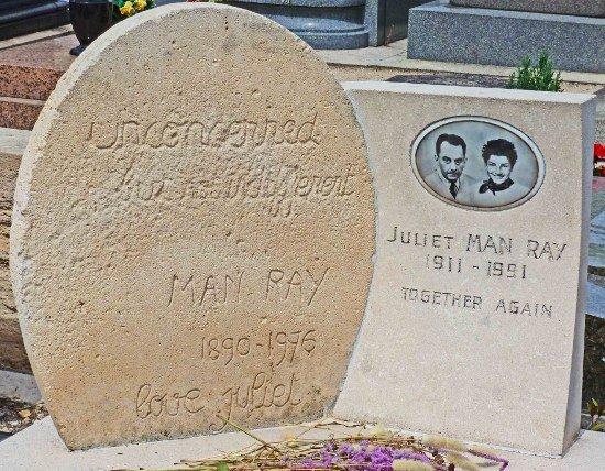 Montparnasse Cemetery Man Ray