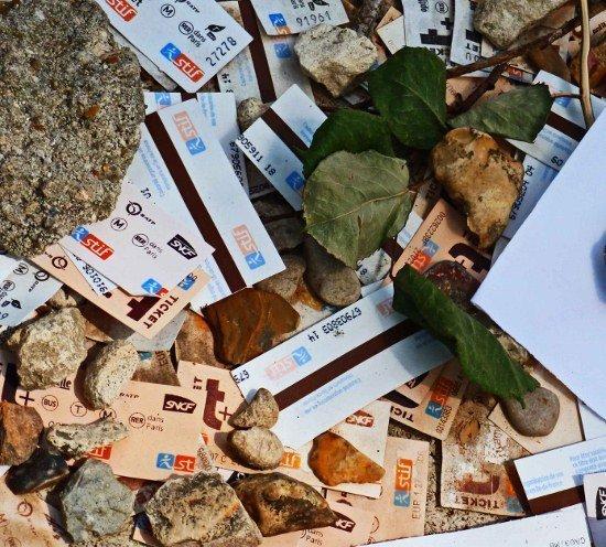 Montparnasse Cemetery Sartre Simone de Beauvoir grave metro tickets