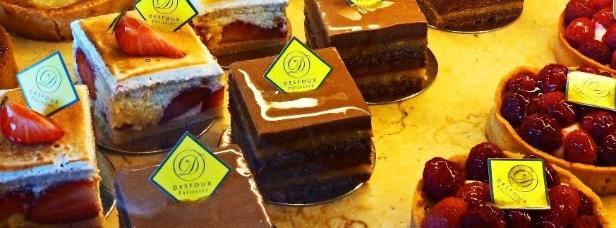 Tasty pictures of decadent Paris pastry