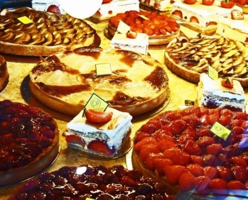 Assorted Paris pastries