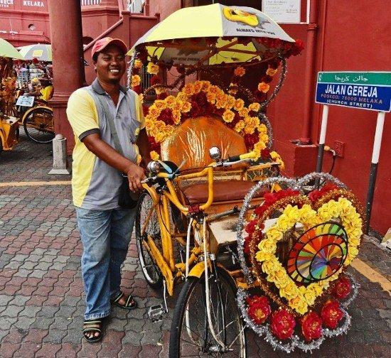 Trishaw Malacca Melaka