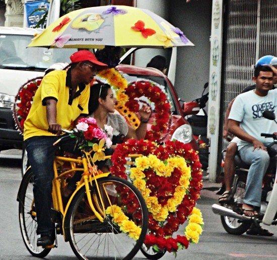 Trishaw Malacca Melaka Malaysia