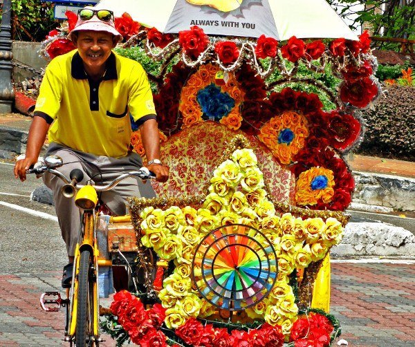 Post image for The colorful trishaws of Malacca