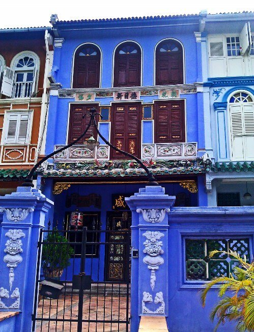 A day in Singapore day Peranakan architecture